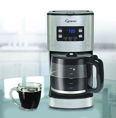 Capresso 43405 12 Cup Coffee Maker SG300 Stainless Steel >>> This is an Amazon Associate's Pin. Check out this great product on Amazon website by clicking the image.
