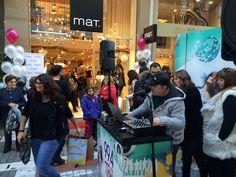 Με τους ρυθμούς του Πολις Radio 99,4 FM στο Party του νέου mat. store στη Λάρισα (Κούμα 10) Times Square, Events, Party, Parties