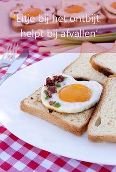 Door je dag met een eitje te beginnen kun je je eetlust beter onder controle houden dan met bijvoorbeeld ontbijtgranen. De eiwitten in ei geven je een langer vol gevoel dan die in graan. Dat stellen onderzoekers van het Amerikaanse Pennington Biomedical Research Center op basis van een onderzoek onder 20 volwassenen met overgewicht. http://www.gezondheidsnet.nl/alles-over-afvallen/ontbijten-met-ei-helpt-bij-afvallen #pasen #eieren #afvallen