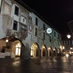 Piazza dell'Orologio - Clusone, Italy