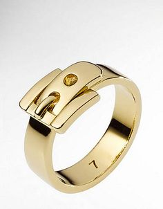 Michael Kors golden buckle ring, $65  See more picks here: http://www.vogue.com/guides/spring-2013-100-under-100/