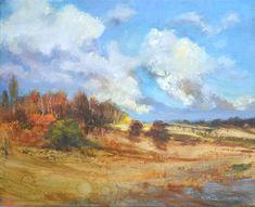 """Pejzaż Jurajski II"" 40x50 olej, art gold, płótno Painting, Art, Art Background, Painting Art, Kunst, Paintings, Performing Arts, Painted Canvas, Drawings"