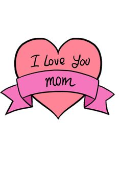 Coeur je t'aime maman activité fête des mères, dessin fete des mere a offrir comme cadeau a sa maman My Love, Fun, Inspiration, Colorful Drawings, Cute Drawings, Watercolor Fox, Biblical Inspiration, Inhalation, Funny