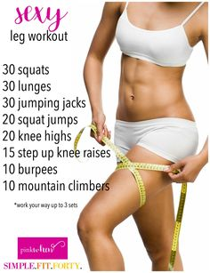 I am LOVING this sexy legs workout. Not only is it challenging, but you can start feeling the burn early on...and feeling the burn means burning fat!