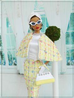 ~Right On Spring~OOAK Fashion for Silkstone Barbie/Fashion Royalty Dolls~Joby #JobyOriginals