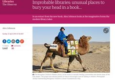 Bookshelf: Improbable libraries: unusual places to bury your head in a book…