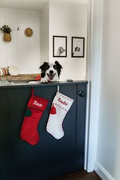 Dog Room - Christmas Home Tour 2020 - Farmhouse Living - Dutch Door Mud Room