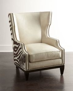 H7D5F Massoud Borra Hairhide Chair