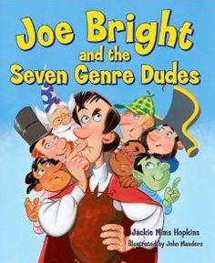 Genre Passport Freebie to go with the picture book Joe Bright and the Seven Genre Dudes