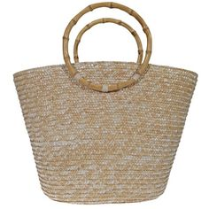 Summer Wicker Basket Bamboonow featured on Fab Wicker Baskets, Straw Bag, Bamboo, Summer, Beach, Bag, Woven Baskets, Summer Time