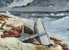 After The Tornado - by Winslow Homer