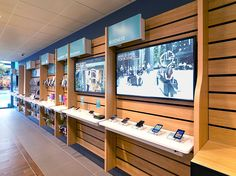 From interior design, communications and video content for EE's retail stores, our work positioned EE as a digital network built for today's mobile consumer. Shop Interior Design, Retail Design, Store Design, Luxury Interior, Mobile Phone Shops, Mobile Shop, Shop Front Design, House Design, Cottage