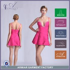 Find More Dresses Information about 2015 sexy beading straps a line very sexy bandage dress 2014 new design pink  popular bandage dress DM888,High Quality dress summer,China dresses for men to wear Suppliers, Cheap dress satin from Guangzhou Armiar Garment Factory on Aliexpress.com