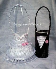 свадебный набор для шампанского