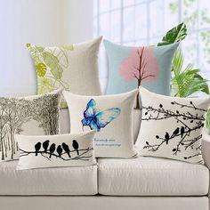 plants print cushion - Buscar con Google