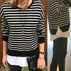 12/26/2016• •  This 100% silk and cashmere blend Two for One combo sweater/top is on sale.  Sizes are running low so I linked 3 stores that are running the sale.  I am wearing a Medium in the picture. • • For details click the website link in my bio header or head over to www.maryolivestyle.com • • • • • • • • • • • • • • • • • • • • • • • • • • • • #maryolivestyle #ootdsubmit #whatiwore #streetstyle #mystyle #styleoftheday #wiw #lookoftheday #stylediaries #styleblogger #currentlywearing…