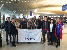 C'est l'heure du départ avec #ISPA ! Etudes et séjours à l'étranger. Accompagnement sur place : Marie-Laurence.