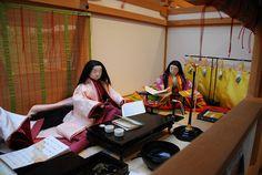 Heian Era, Heian Period, Japanese Outfits, Japanese Clothing, Japanese Kimono, Japanese Style, Asian Doll, Traditional Outfits, Mythology