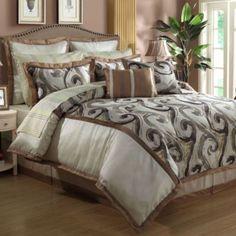 $149.99 12-Piece Gramercy Comforter Set - BedBathandBeyond.com