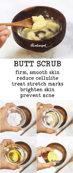 BUTT SCRUB For Pimple-Free Smooth Butt
