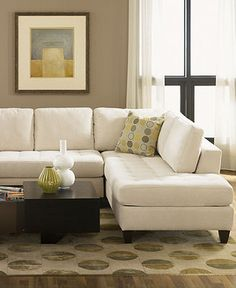 Milo Fabric Living Room Furniture Sets & Pieces - Sectionals - furniture - Macy's