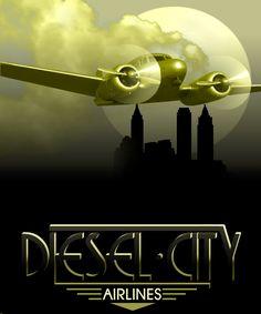 Art Deco Travel Poster More Art Deco Illustration, Gravure Illustration, Illustrations, Kunst Poster, Poster Art, Art Deco Posters, Retro Kunst, Retro Art, Vintage Art