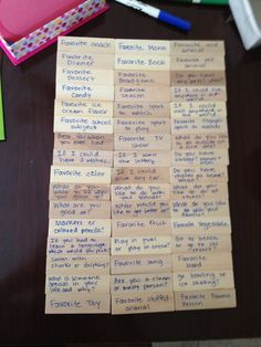Conversation starters/ice breakers with Jenga *This could also be used (blocks numbered) with questions that respond to your monthly theme. Not literally answers (too much pressure) but pondering questions (Why do you suppose . . . HOw do you think we can . . . What are some ideas that might . . . )