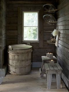 country house sauna with Burton Burton Burton Flemming and Pearl Liu Grinsteinner Barley Sauna Hammam, Outdoor Sauna, Sauna Design, Finnish Sauna, Photo Deco, Ideas Hogar, Cabins In The Woods, Interiores Design, Country Life