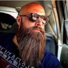 85 Long Beards Style to Make You Look Charming Beard King, Beard Boy, Bald With Beard, Beard Fade, Beard Cuts, Long Beard Styles, Best Beard Styles, Badass Beard, Epic Beard