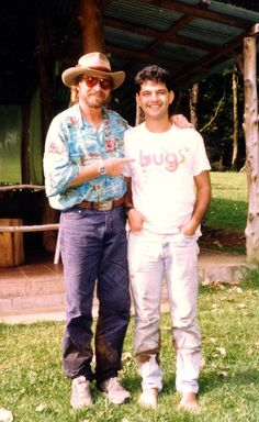 In1994 John Denver visited Costa Rica by the Humane Society for Animal Protection and I had the great opportunity of taking him to a field trip to observe birds -  Jorge F. Corrales Mayorga