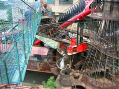 City Museum: Shoe Factory Transformed into the Ultimate Urban Playground - Art People Gallery