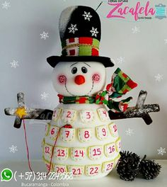 Christmas Time, Christmas Crafts, Christmas Decorations, Xmas, Christmas Ornaments, Holiday Decor, Snowman Crafts, Felt Crafts, Diy And Crafts
