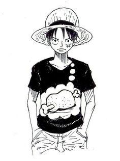 Luffy's shirt