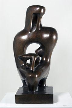 Agustín Cárdenas Maternity, 1989. Bronze. 22 1/2 x 12 1/4 x 12 1/4 in.