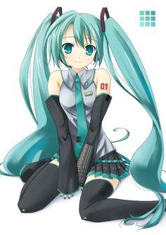 Hatsune Miku (or Miku Hatsune) is wonderful!