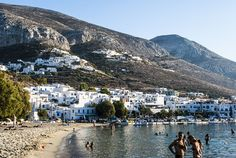 At the beach of Aegialis Greece Islands, More Photos, Beaches, Greek, Swimming, Colors, Swim, Sands, Colour