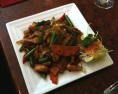 mmm...Thai food! Tasty Spicy Beef at Basil Leaf Thai restaurant in Montrose, an outer eastern suburb of Melbourne.  #thai #beef #restaurant