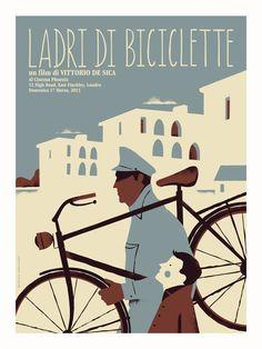 Ladri Di Biciclette Movie Poster