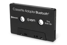 """Kicking it """"oldschool"""" with ION Audio Bluetooth Cassette."""