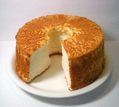 Angel Food Cake -recipe from Alton Brown the angel food cake recipe by
