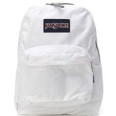 This white Jansport backpack for school is very popular. #MyJansportbackpacks