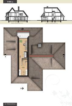 Voorbeeldvilla type 1 - zolderverdieping