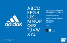 Every Streetwear Font & Fashion House Font In One Infographic - SLAMXHYPE
