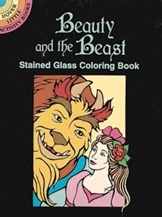 Beauty and the Beast Stained Glass Coloring Book (Dover Stained Glass Coloring Book) Coloring Books, Coloring Pages, Funny Fishing Shirts, Doodle Pages, Glass Book, Classic Fairy Tales, Painted Books, Colorful Fish, Stained Glass Art