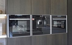 Neff panorama met hoge oven en koffieautomaat via Princess Keukens