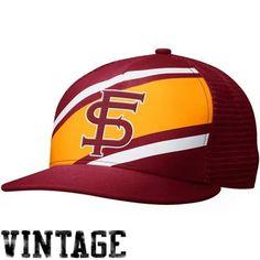 Nike Florida State Seminoles (FSU) True Retro Adjustable Snapback Hat - Garnet