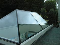 Glazing Vision Rooflights, Skylights and Glass Roofs- Pyramid Rooflights