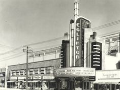 the old eglinton theatre in toronto - the site of my first date with andre