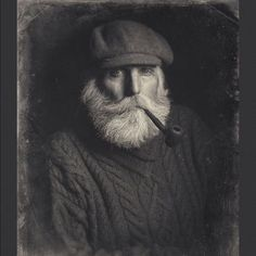 "retrofrance: "" #marin #beard #gueule #pipe """