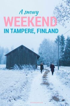 Tampere in FInland makes a wonderful city break and alternative ti Helsinki, especially in winter if you're lucky enough to catch the snow. This weekend in Tampere itinerary shows you where to eat, where to stay, and what to do in this interesting Finnish city.